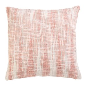 Coussin rose Shell