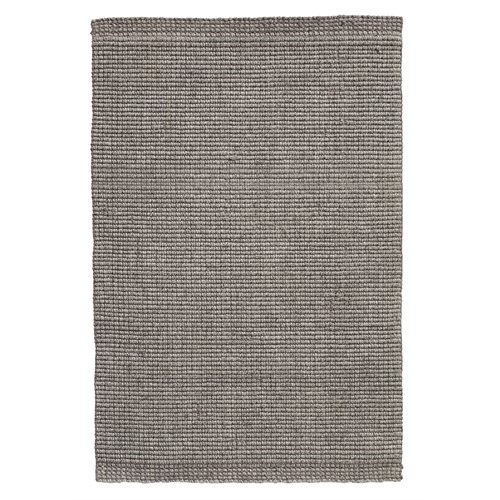 Aja grey knitted rug