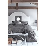 Housse de couette anthracite Natural Stone